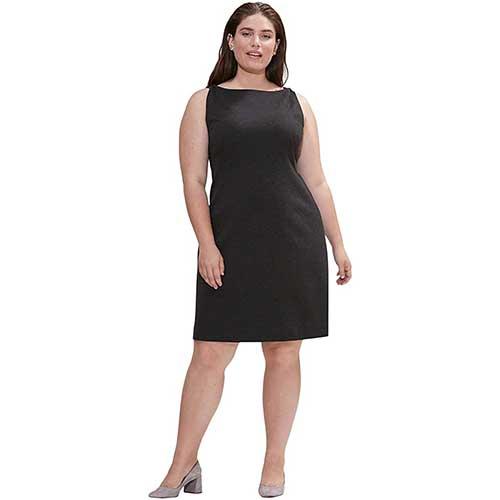 plus-size-little-black-dress