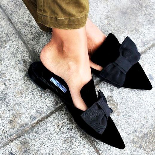 prada mules for women