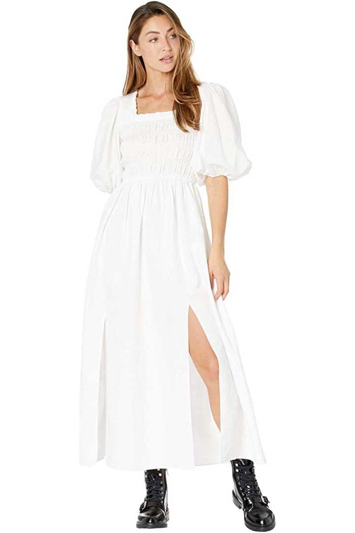 puff-sleeve-cottagecore-linen-dress