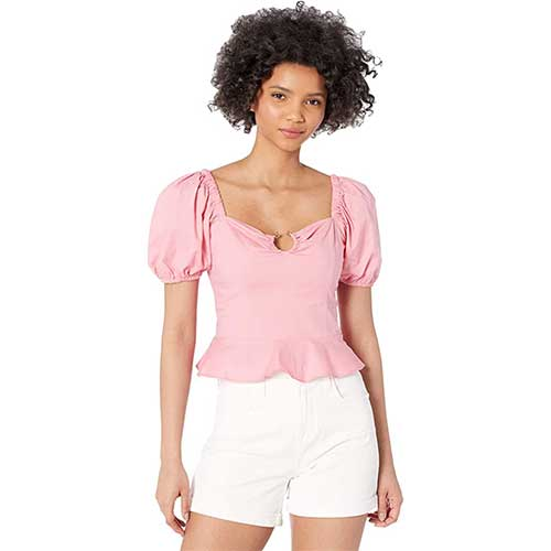 puff-sleeve-pink-off-the-shoulder-top