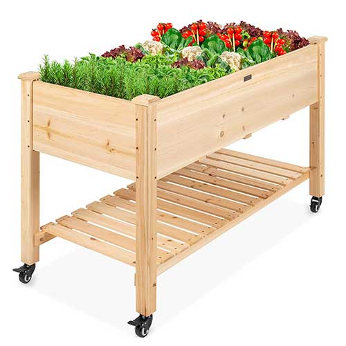 raised-garden-bed-on-wheels-best-choice-products