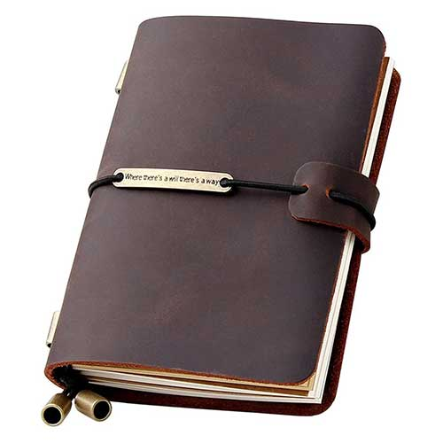 refillable-leather-travel-journal