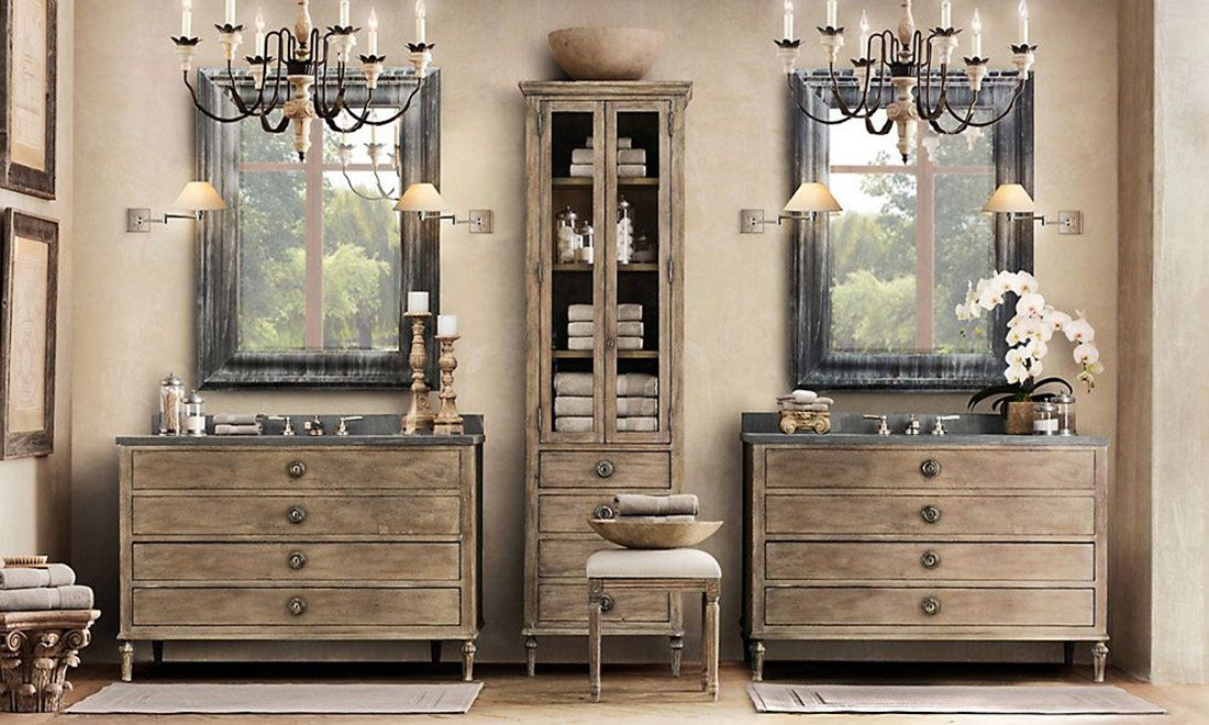 Restoration Hardware Style Bathroom Vanities Restoration Hardware