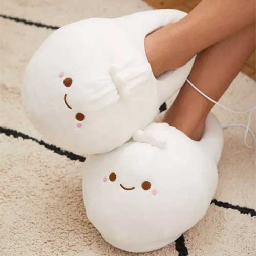 roommate-gift-ideas-heated-slippers