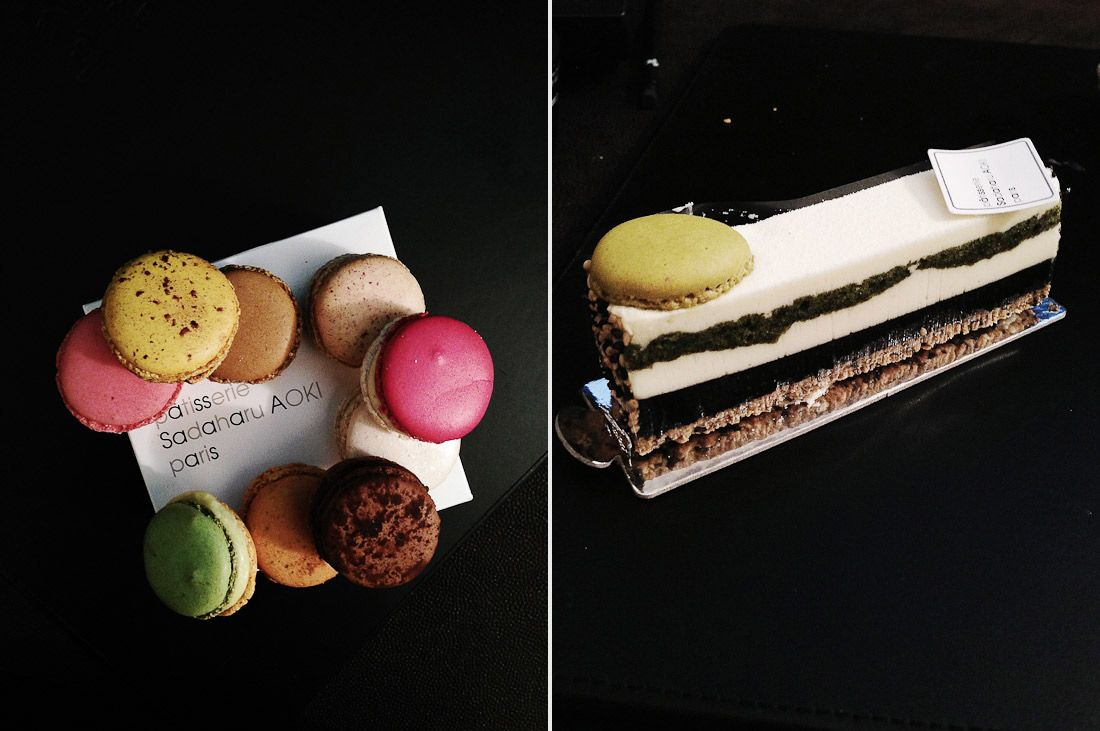 sadaharu aoki pastries pastry france dessert cake tarte macaron green tea asian flavor photo shershegoes.com 4