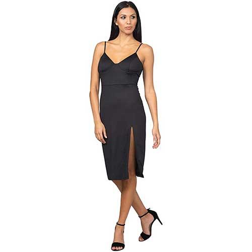 sexy-black-midi-dress-with-slit