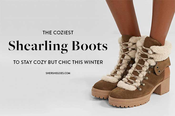 shearling-boots