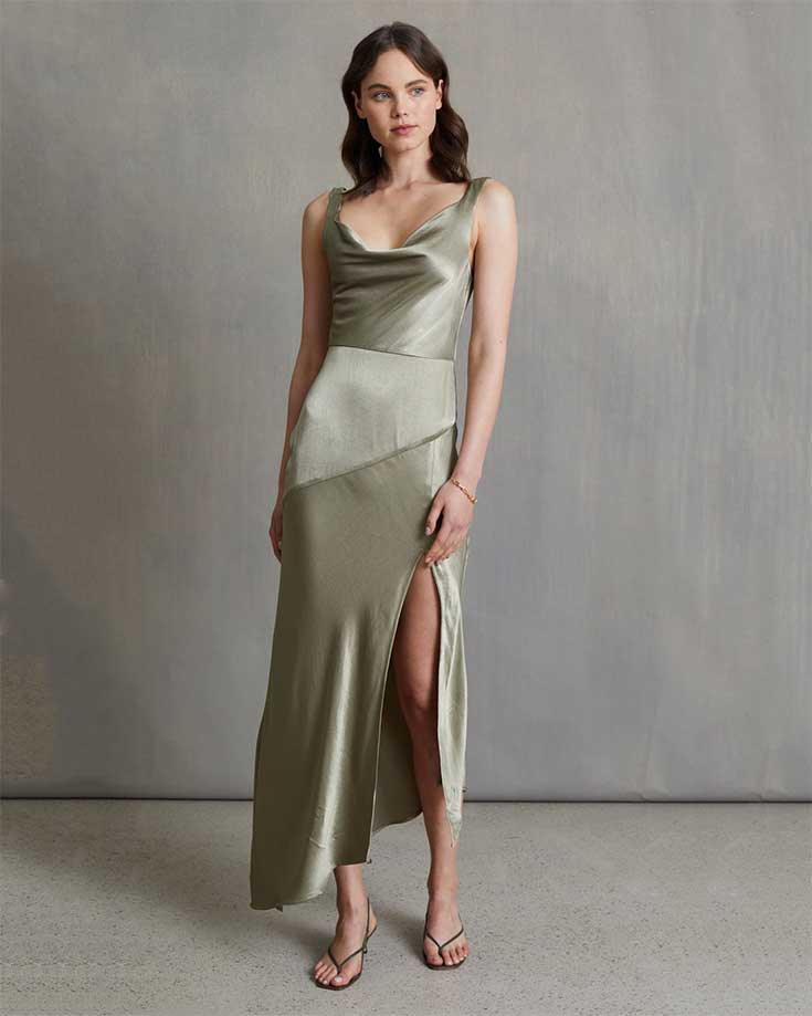 simple-silk-wedding-guest-dress-for-summer