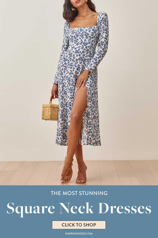 square-neck-dresses-for-women
