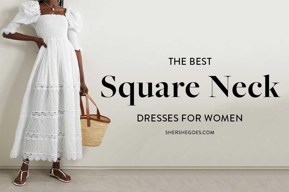 square-neck-dresses