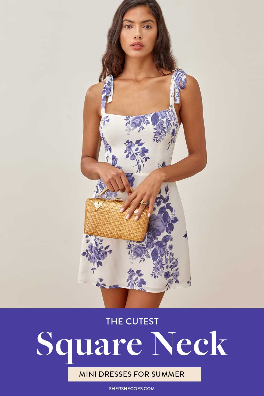 square-neck-mini-dresses