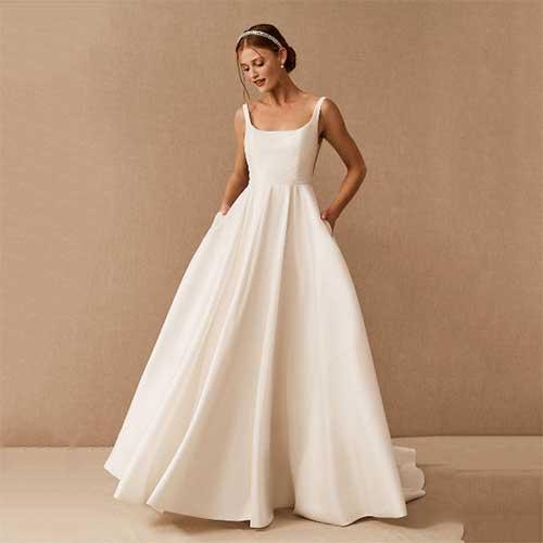 square-neck-wedding-dress