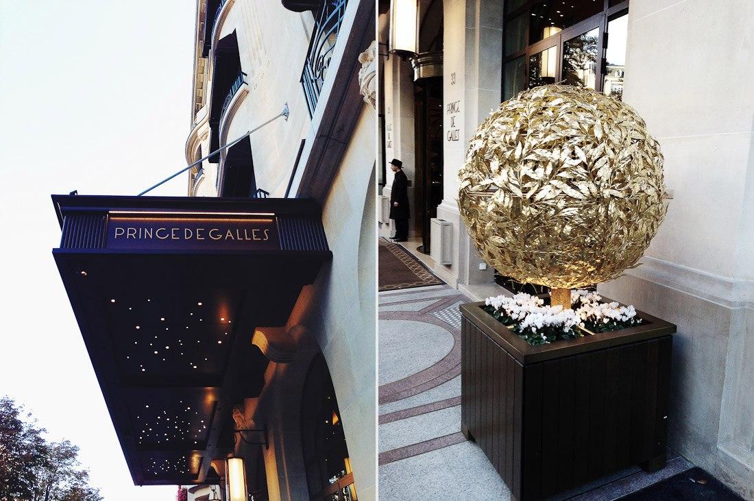 Champs-Elysées avenue George V Parisian elegance 5 star