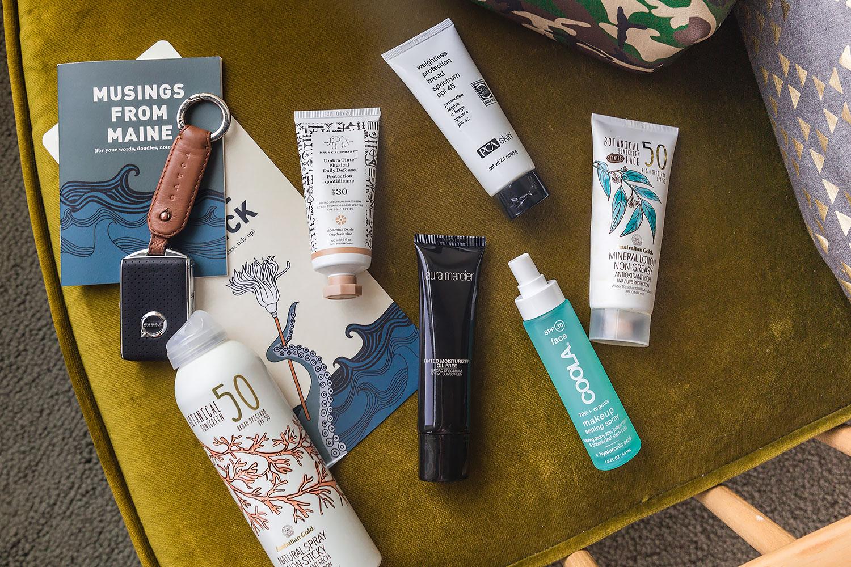 summer essentials sunscreen