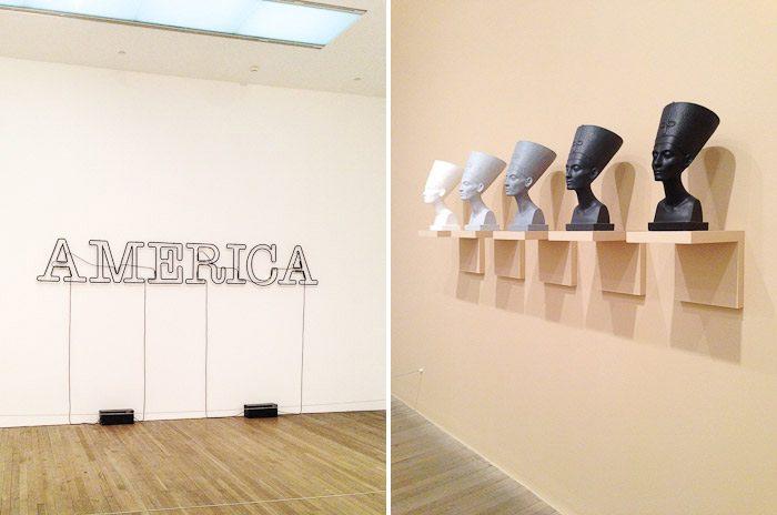 Egyptian heads america gallery