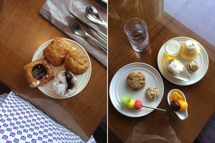 sher she goes thailand conrad hotel bangkok luxury southeast asia breakfast pastries carbs