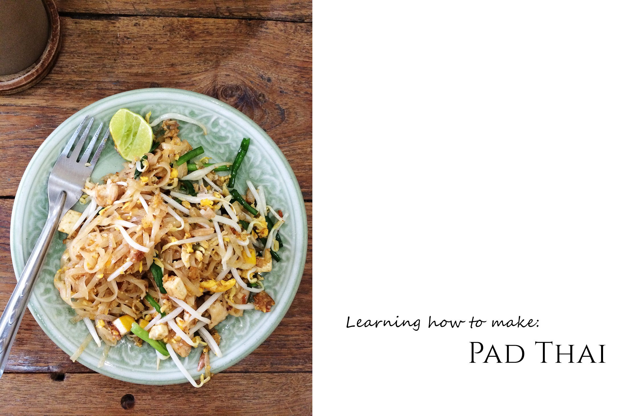 pad thai thailand thai cooking class chiang mai photo