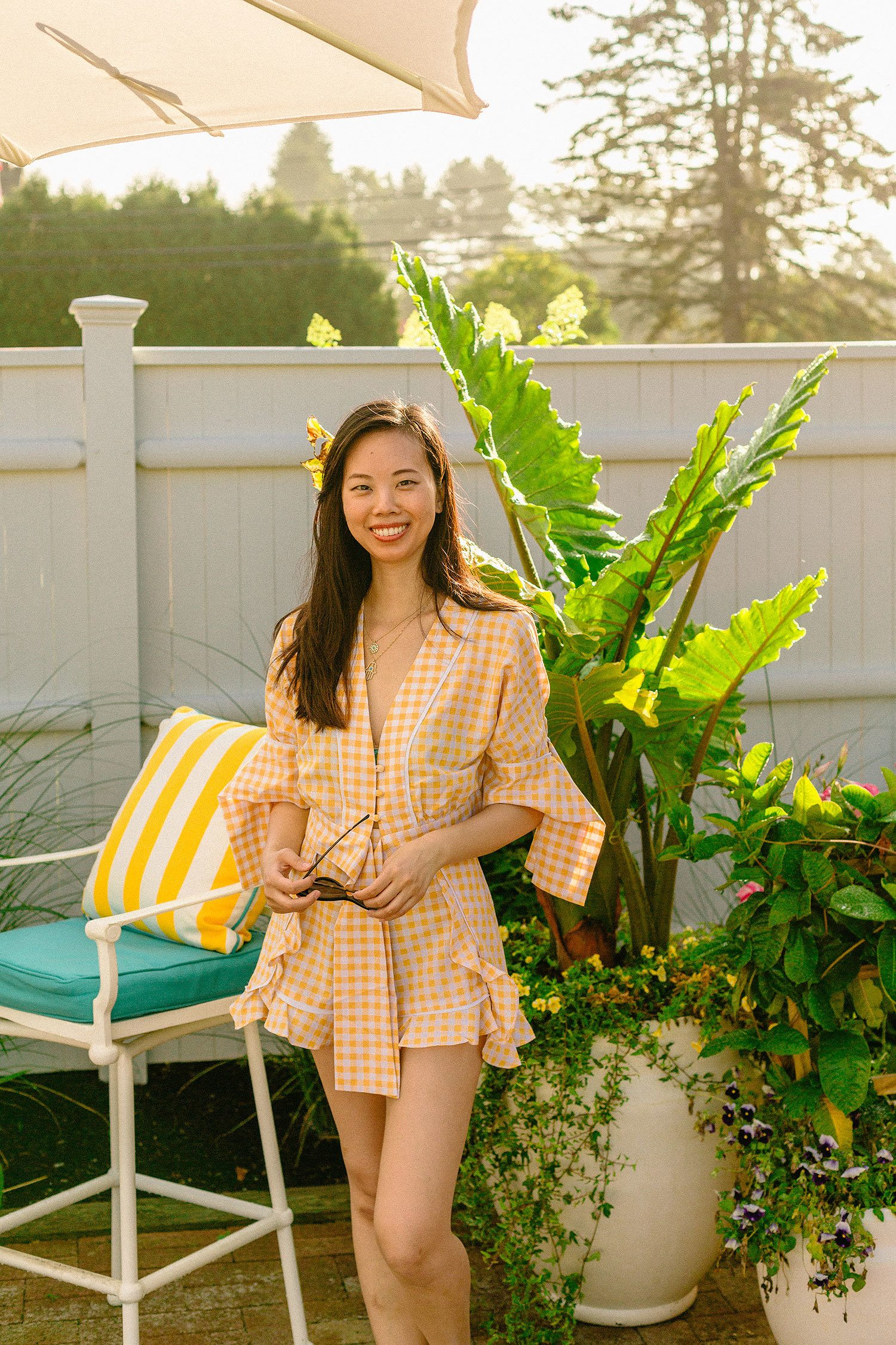 the fifth label idyllic top and shorts set