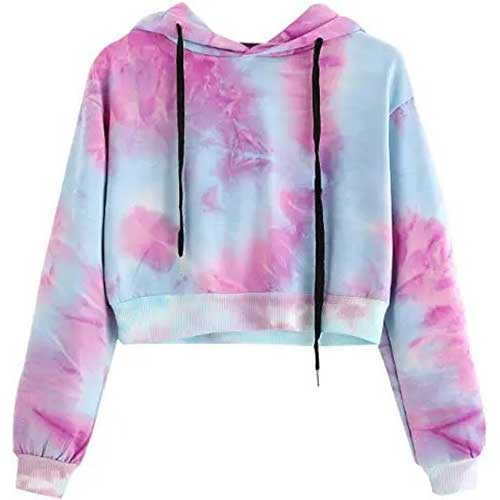 tie dye hoodie amazon fashion