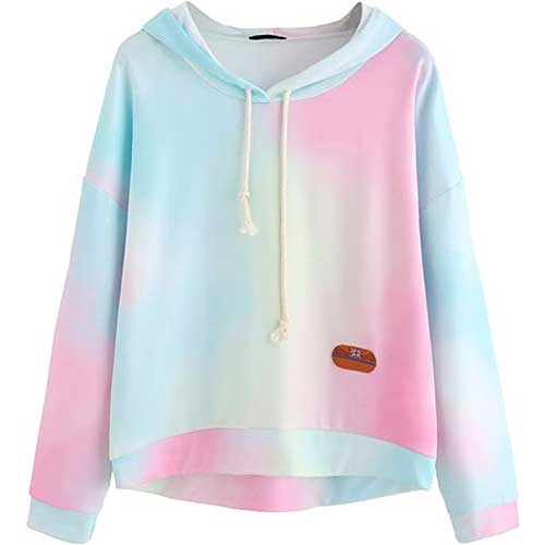 tie dye sweatshirt amazon fashion