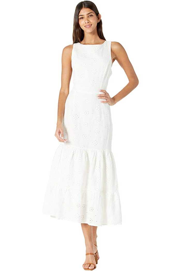 tiered-linen-maxi-dress-bardot