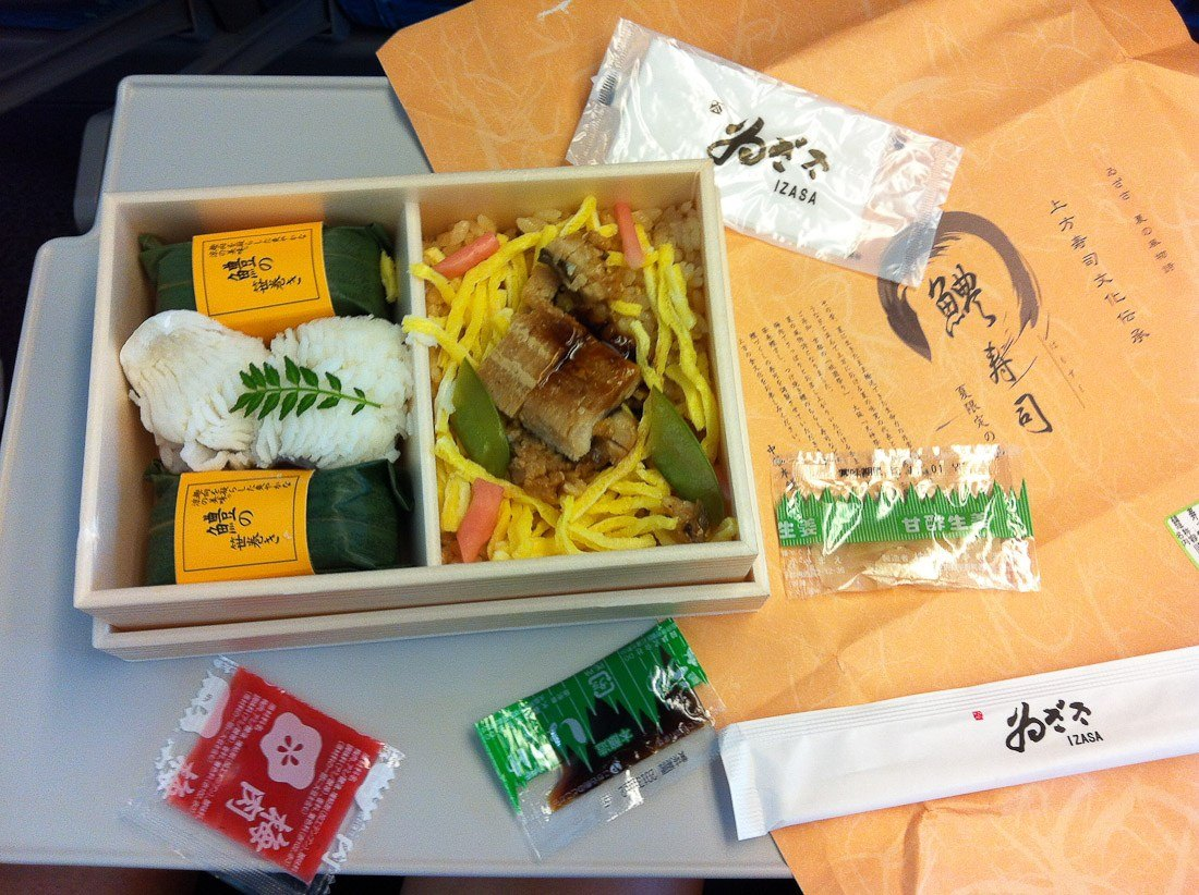 sher she goes food japanese train railway travel transport logistics eel ramen fish rice soy sauce