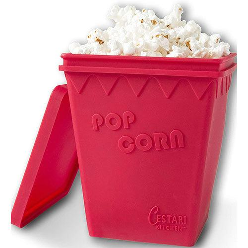 useful-white elephant gift idea microwave popcorn popper