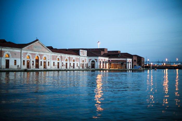 europe italy travel lagoon sea ocean water venetian venezia canal pier light sunset moody light glimmer