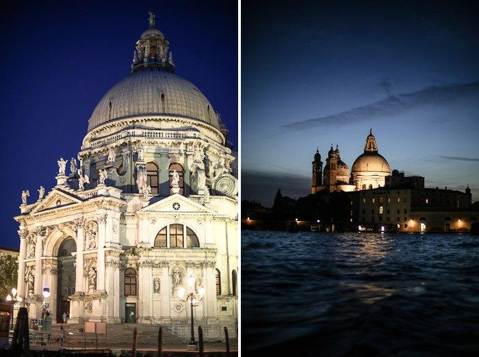 europe italy travel lagoon sea ocean water lights architecture sunset night moody