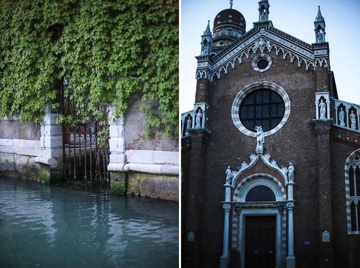 europe italy travel lagoon sea ocean water venetian venezia canal church gate tree green