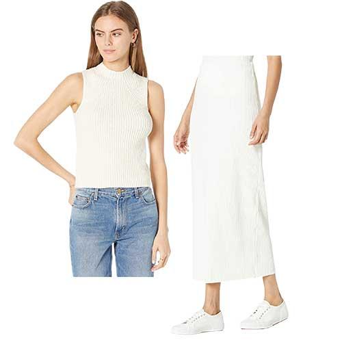 vince-sleeveless-sweater-skirt-set
