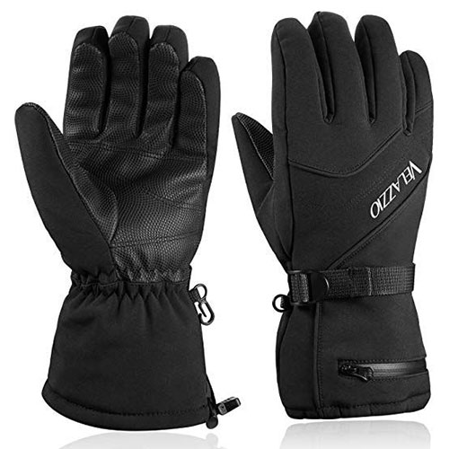 waterproof winter gloves for skiing