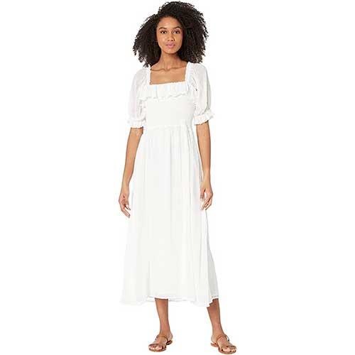 wayf-white-midi-dress-with-sleeves