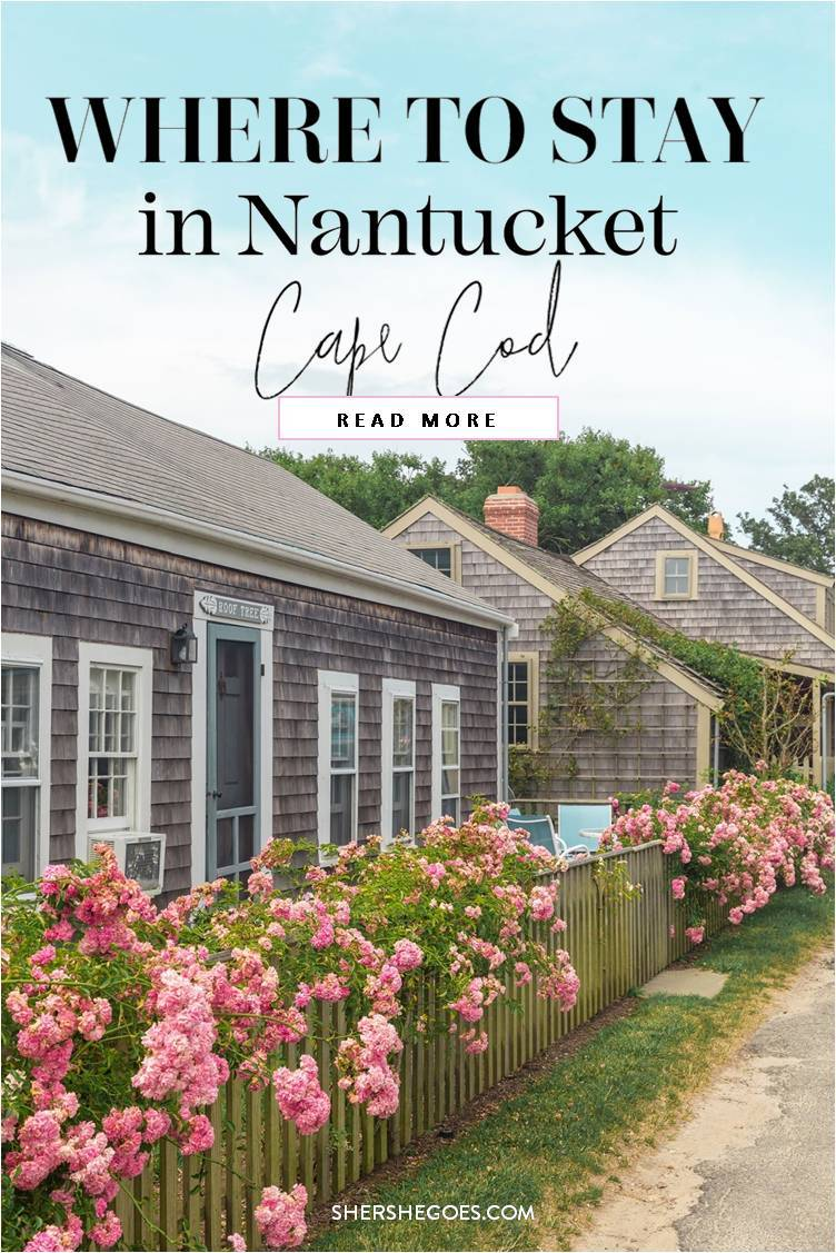 where to stay in nantucket cape cod