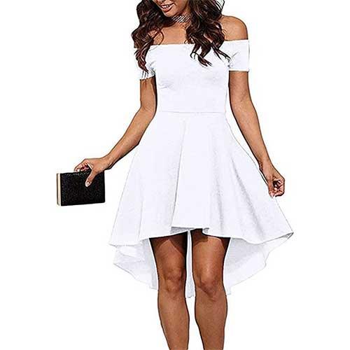 white cocktail dress amazon fashion