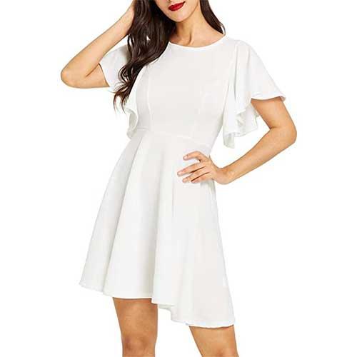 white dress amazon