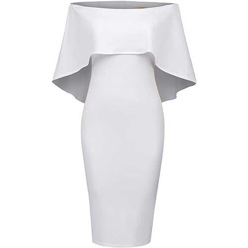 white flapper dress amazon