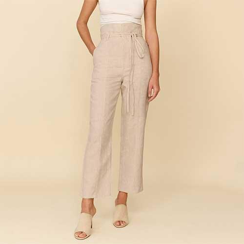 white-linen-suit-pants