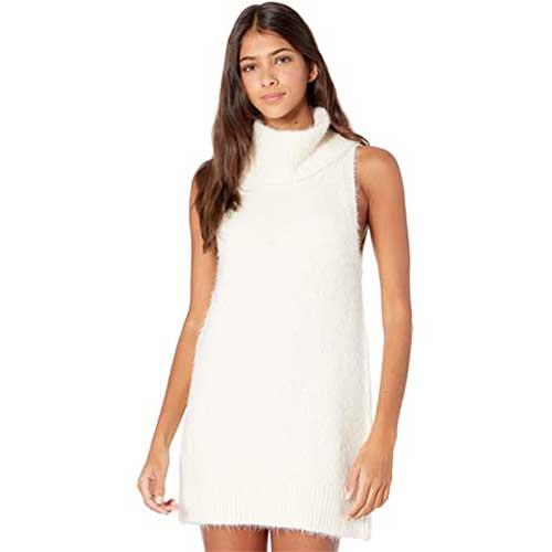 white-sweater-dress