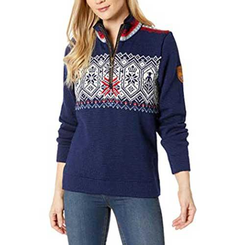womens-christmas-sweater-snowflake