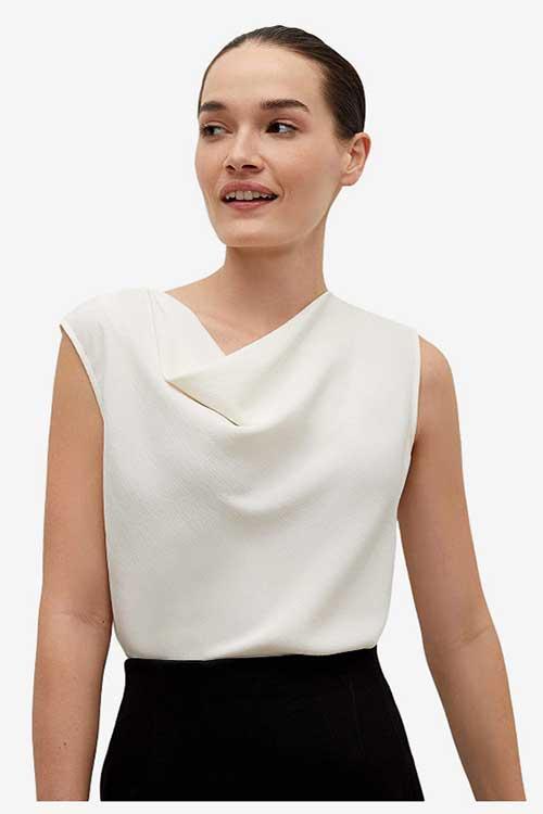 work-blouse
