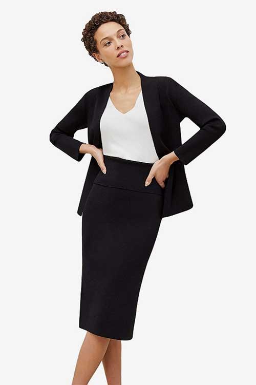 work-capsule-wardrobe-pencil-skirt